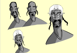 """BEHIND THE SCENES of """"NFL Films DRAWN: X's, O's, and Izzles"""" starring Snoop DoggyDogg"""