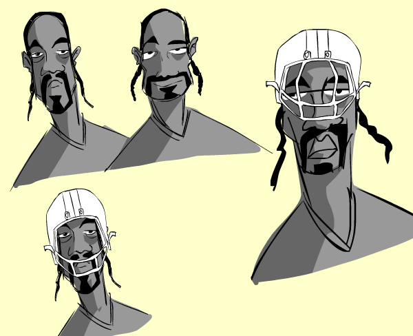 "BEHIND THE SCENES of ""NFL Films DRAWN: X's, O's, and Izzles"" starring Snoop Doggy Dogg"