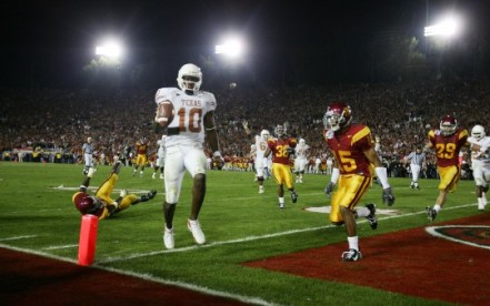 National Championship Rose Bowl: USC v Texas