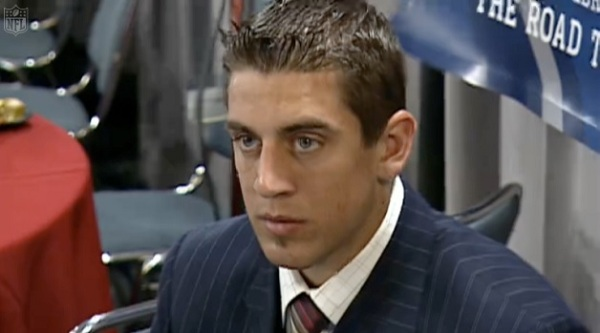 THE AARON RODGERS WAITING GAME: Sneak Peek at CAUGHT IN THE #NFLDRAFT – 2005