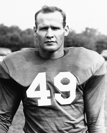 This picture of Tom Landry on Nov. 5, 1958 defensive coach of the New York Giants, This picture was made in December, 1954, when he played in the defensive backfield of the Giants, and is latest available close-up on Landry. (AP Photo)