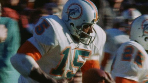 A frame from one of the NFL Films shots newly discovered during production.