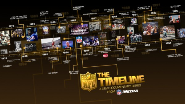 NFL Films' 'The Timeline' Chronicles Defining Moments in NFL History