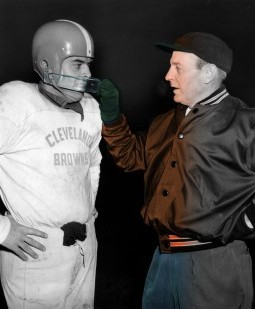 "Never-Before-Seen Colorized Footage To Debut In ""Paul Brown: A Football Life"""