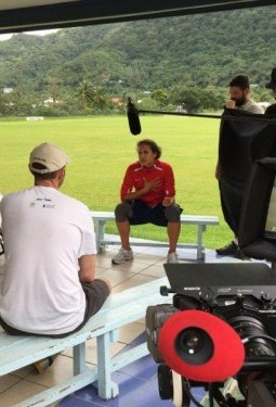 Behind-The-Scenes with Troy Polamalu in AmericanSamoa