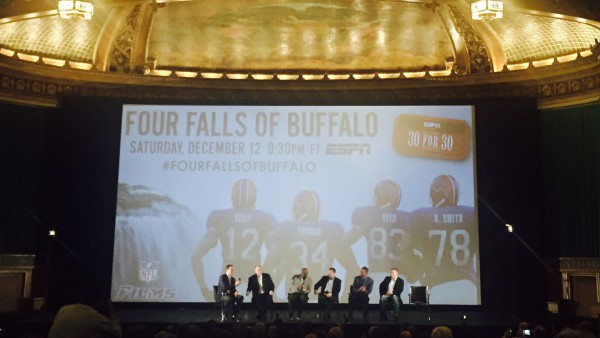 "NFL Films-produced ""30 for 30: Four Falls of Buffalo"" to premiere on ESPN"