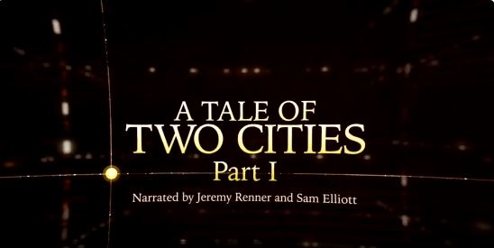 "Sam Elliott vs Jeremy Renner: The Dueling Voices of ""A Tale of Two Cities"""