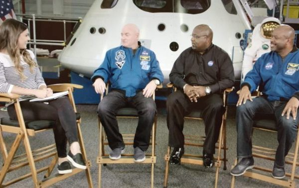 Behind the Scenes: NFL Films Presents Visits NASA