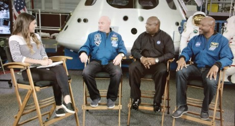 Katie Nolan talks with Scott Kelly, Darryl Gaines, and Leland Melvin